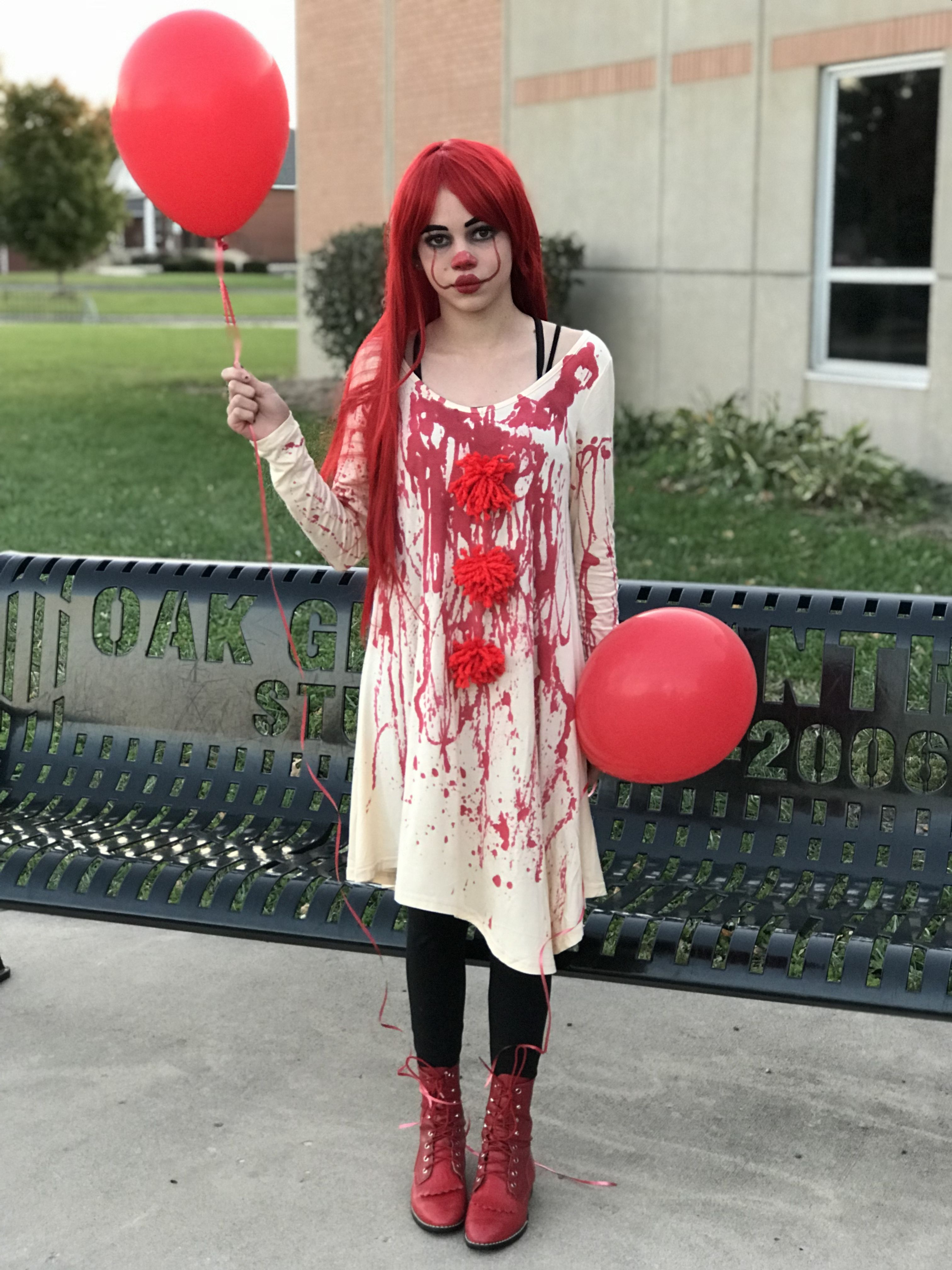 Pennywise Costume Pennywise halloween costume, Clown