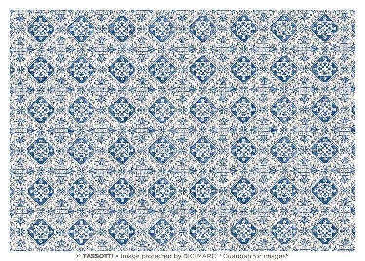 """Papier """"Firenze blu"""""""