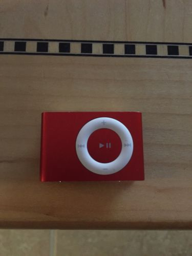 Apple iPod Shuffle 2nd Generation Limited Edition Red 1GB  Charger https://t.co/uiAEkrRcYz https://t.co/hknZwusCmi
