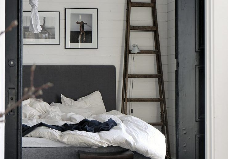 Slaapkamer styling ~ Landelijke slaapkamer van stylist pella hedeby slaapkamer