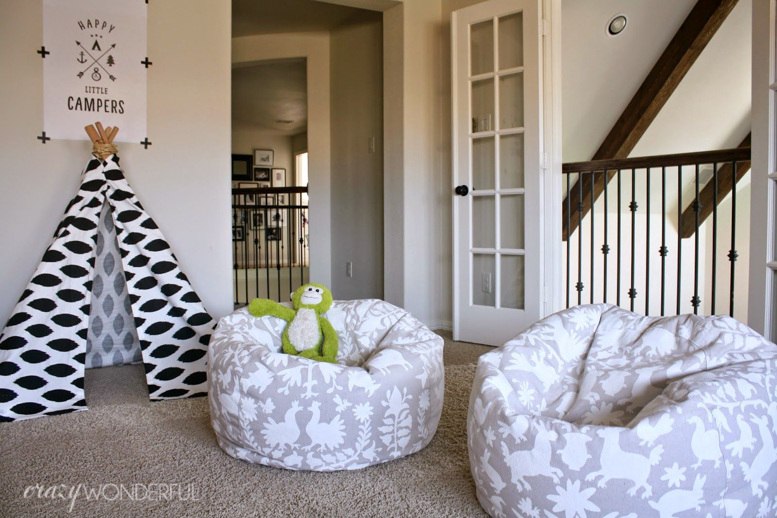 Diy Bean Bag Chair Cover Grey Yellow I 39d Like To Introduce You The Chicest Chairs