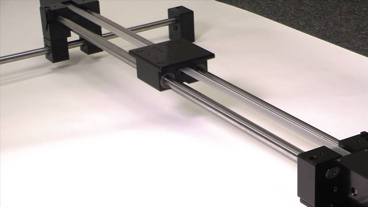 eBelt Long Travel XY Linear Slide - Newmark Systems, Inc