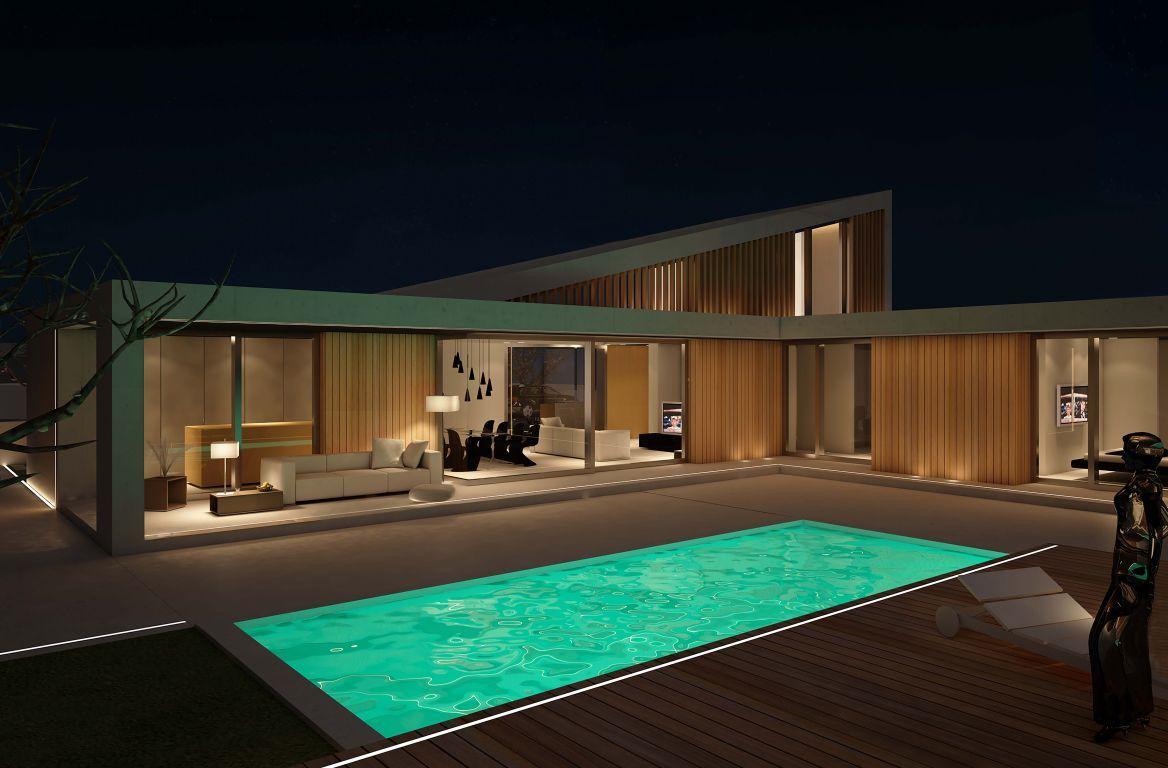 Pin de paola en home decor casas modernas casas y casas for Casa minimalista definicion