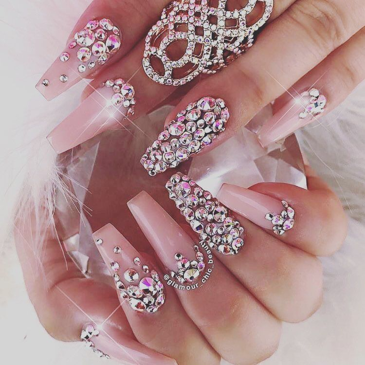 2014 Nail Art Ideas For Prom: 46 Super Gorgeous Prom Nail Art Designs To Try This Year