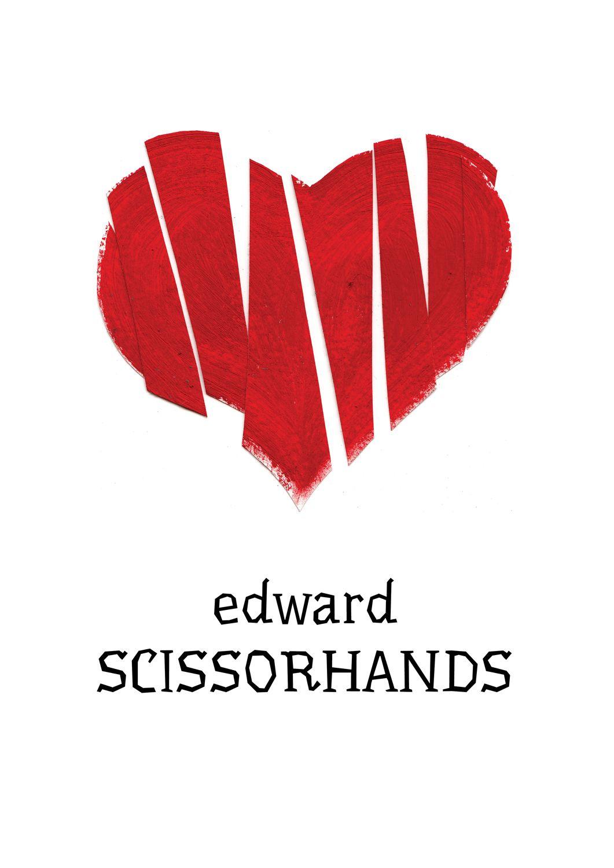 Edward Scissorhands By Sindbada Movie Posters Minimalist Edward