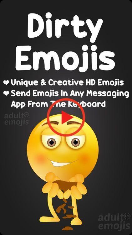 Pin on dirty emoji