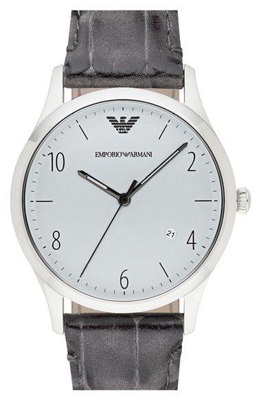 dc72ec57c6ed3 Men s Emporio Armani Round Watch