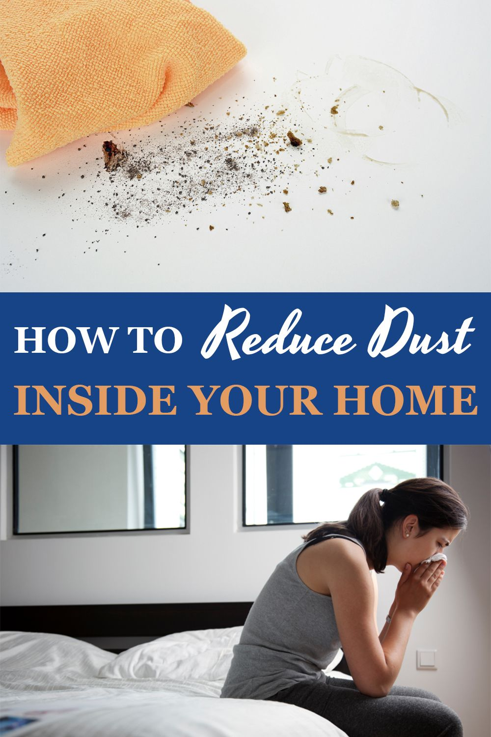 Tired of constantly dusting in your home? Sick of summer
