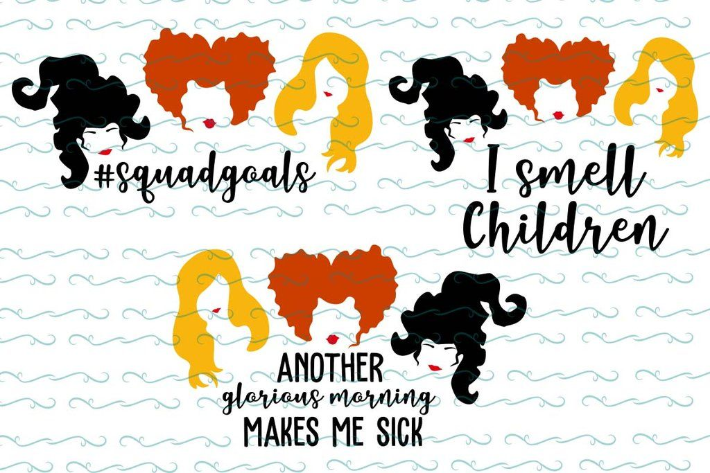 Hocus Pocus Svg Files For Silhouette Files For Cricut Svg Dxf Eps Png Instant Download Cricut Svg Witch Gift