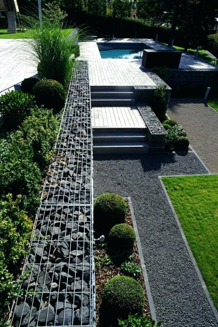 50 Moderne Gartengestaltung Ideen: 50 Moderne Gartengestaltung Ideen Garten Modern Mit Kies