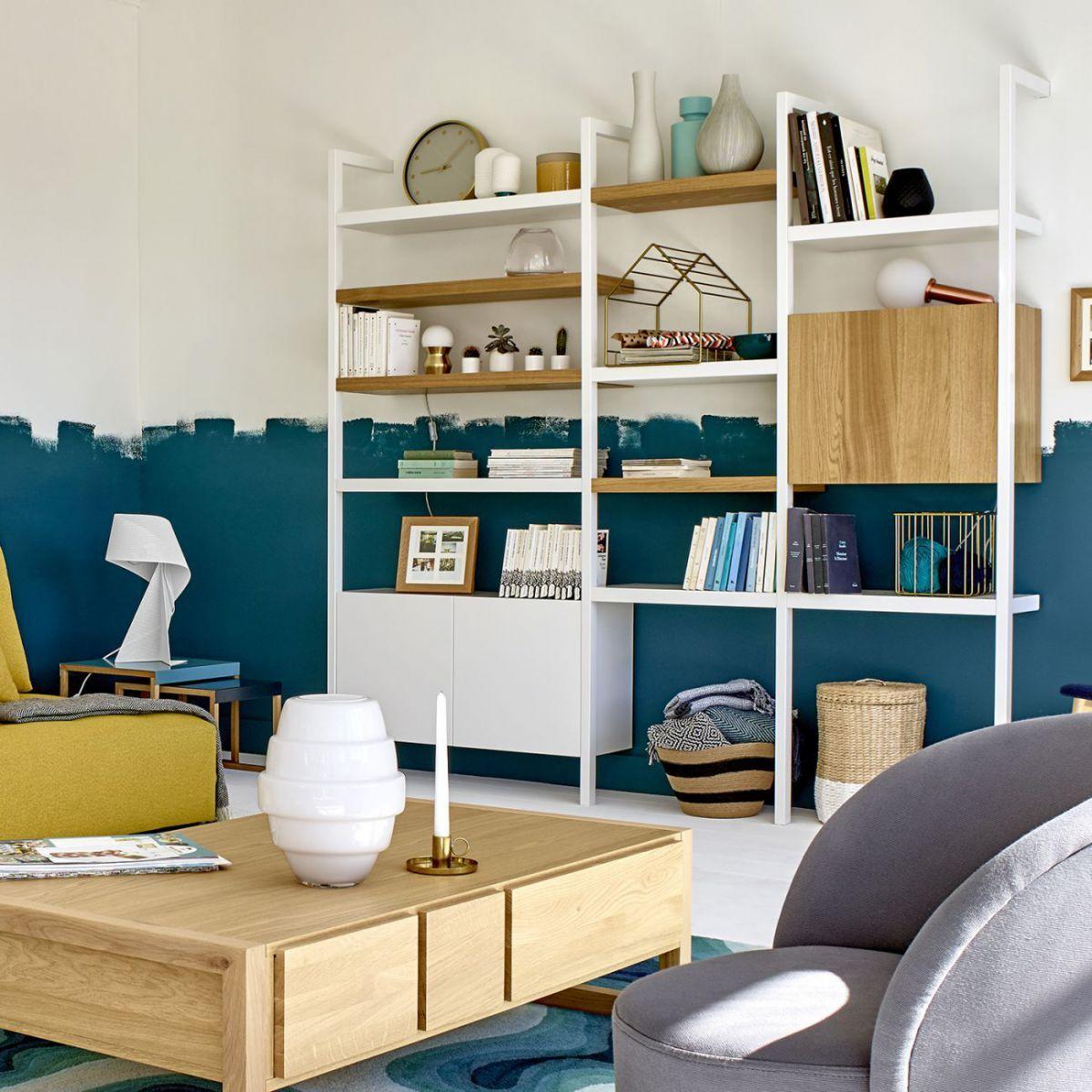 Influence Montant D Etagere Blanc 200cm Meuble Habitat Mobilier De Salon Rangement Modulaire