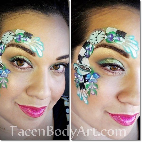 Alice Perrin Google Search: Alice In Wonderland Face Paint