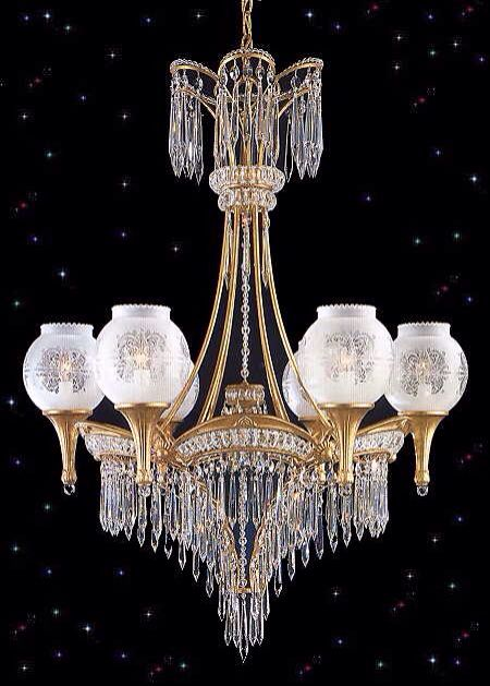 Hanging Chandelier  light Victorian