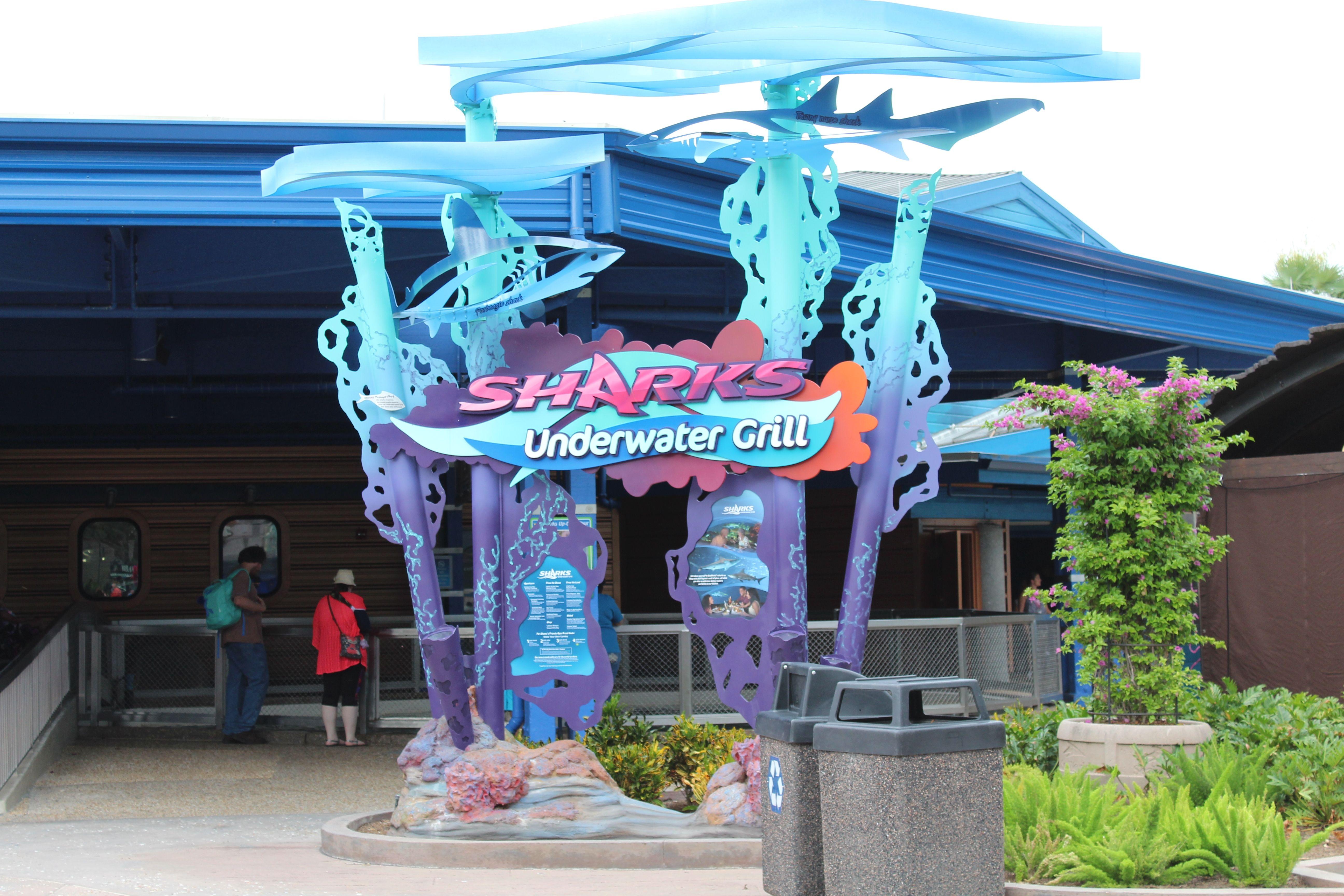 Food Dining Deal Menus Seaworld