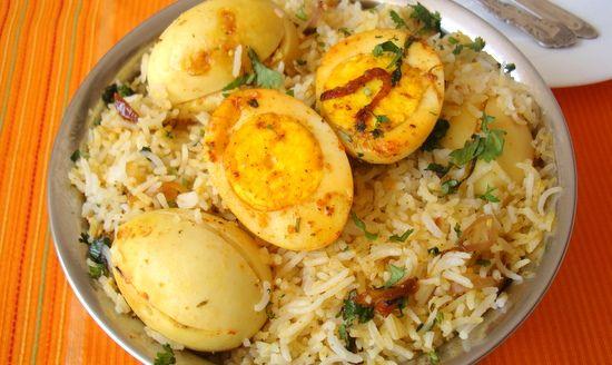 Egg biryani recipe biryani coriander leaves and coriander forumfinder Image collections