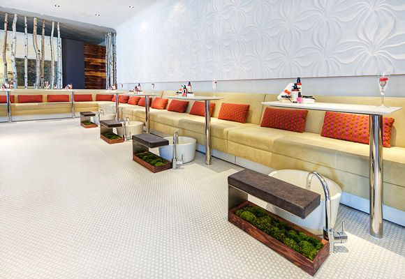 Nail Lounge Le Posh Salon And Spa Los Angeles Ca