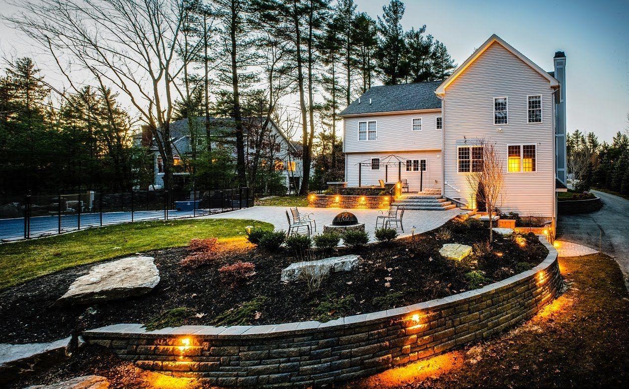 Backyard Raised Patio Makeover: Landscaping Time Lapse ... on Backyard Renovation Companies Near Me id=26415