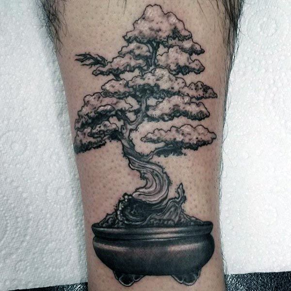60 bonsai tree tattoo designs for men zen ink ideas obras de arte pinterest inspiration. Black Bedroom Furniture Sets. Home Design Ideas