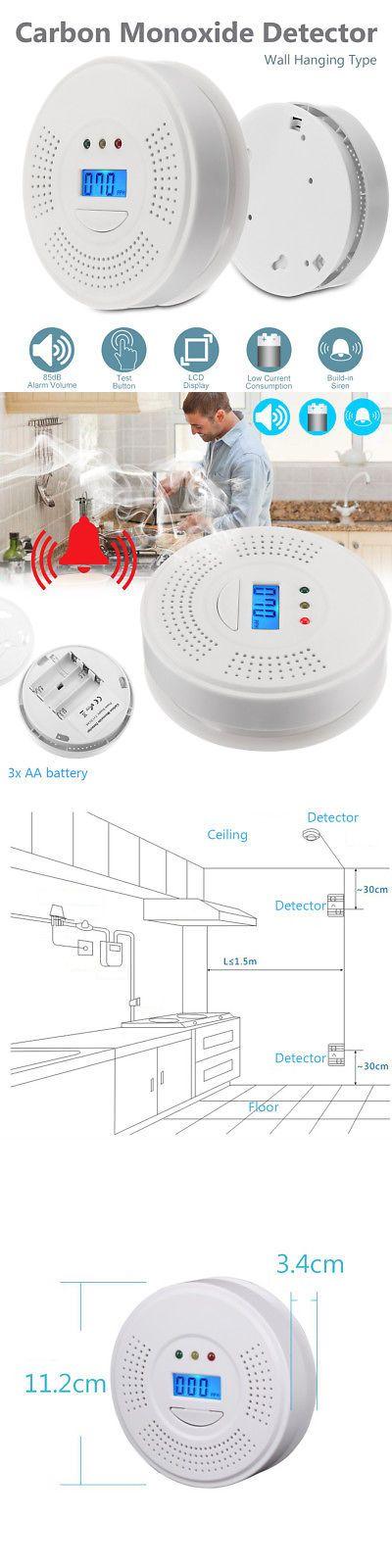 Carbon Monoxide Detectors 115943 Rh 105 Co Carbon Monoxide Detector Audio Alarm Brand New Fast Ship From U S A Buy It No With Images Carbon Monoxide Detector Detector