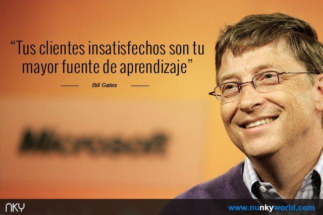 Pin De Nunkyworld En Nunkyworld Quotes Aprendizaje Bill Gates