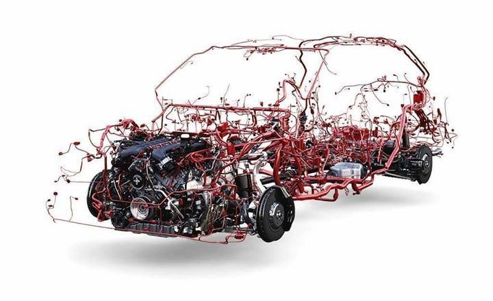 This Is How The Electrical System Of A Car Looks Like