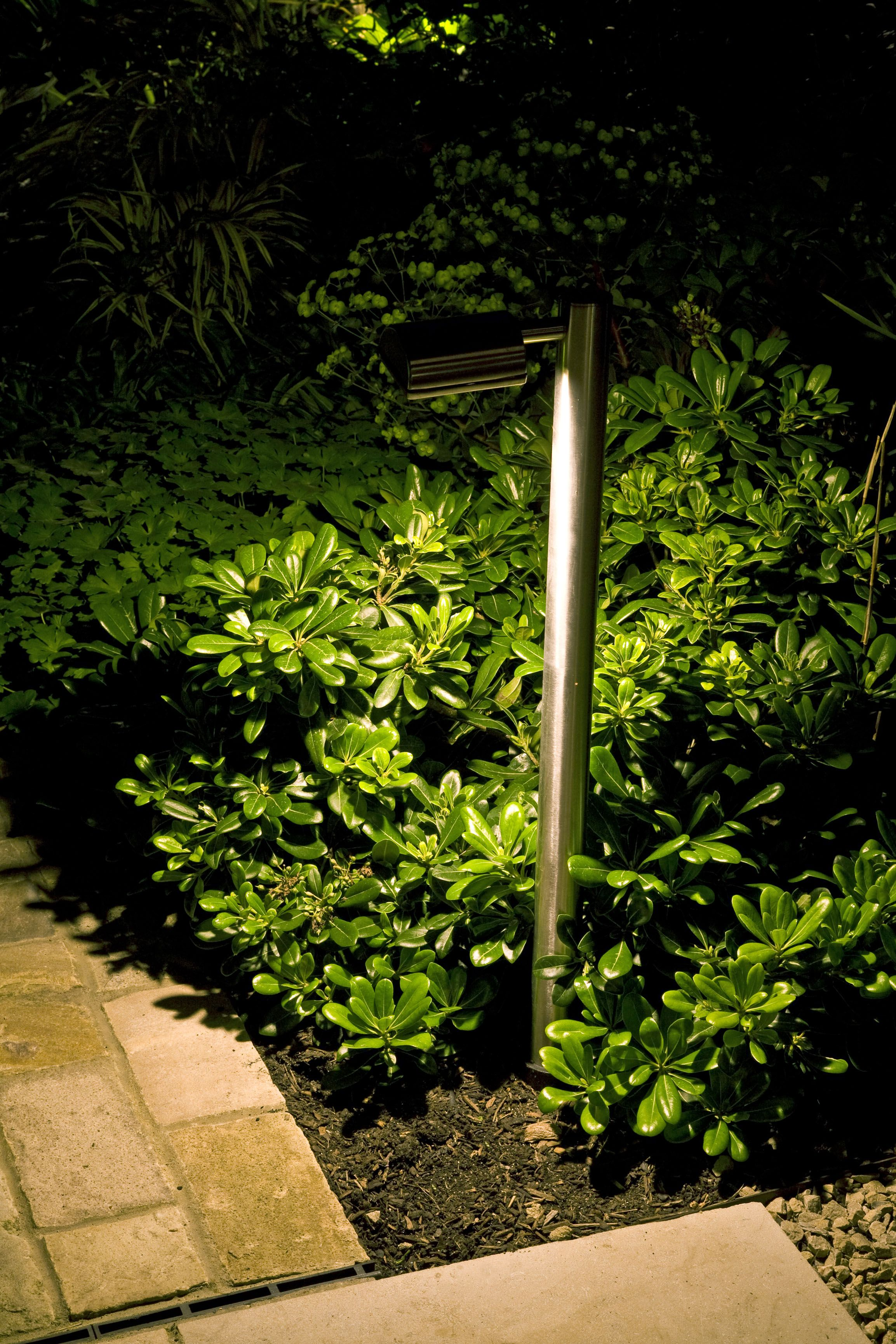 moonlight outdoor lighting. For This Path Moonlight Design Installed Hunza Border Lights In Stainless Steel With Warm White LEDs Outdoor Lighting