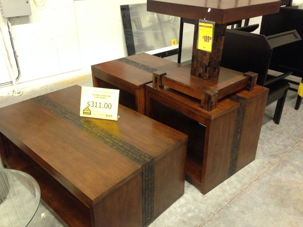 Clearance Items At Ashley Furniture In Richland Wa Coffee Tables Great Prices Floor Model