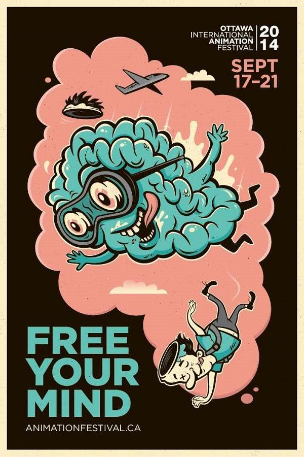 Visually-Arresting Posters Encourage Festival-Goers To 'Free Their Mind' - DesignTAXI.com