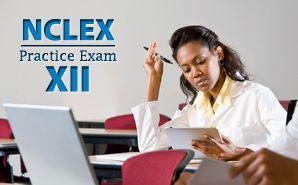 NCLEX practice exams
