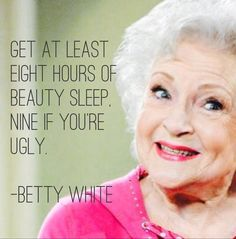 Betty White Quotes Shook Her Hand And She Talked A Littletaping At Hot In Cleveland