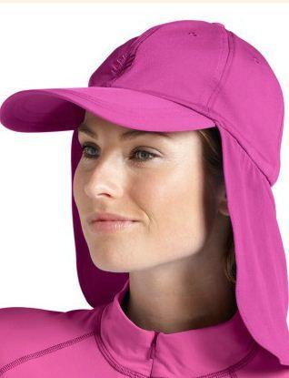 Women's sun protection legionnaire swim hats all UPF50+ for a happy sunny living!