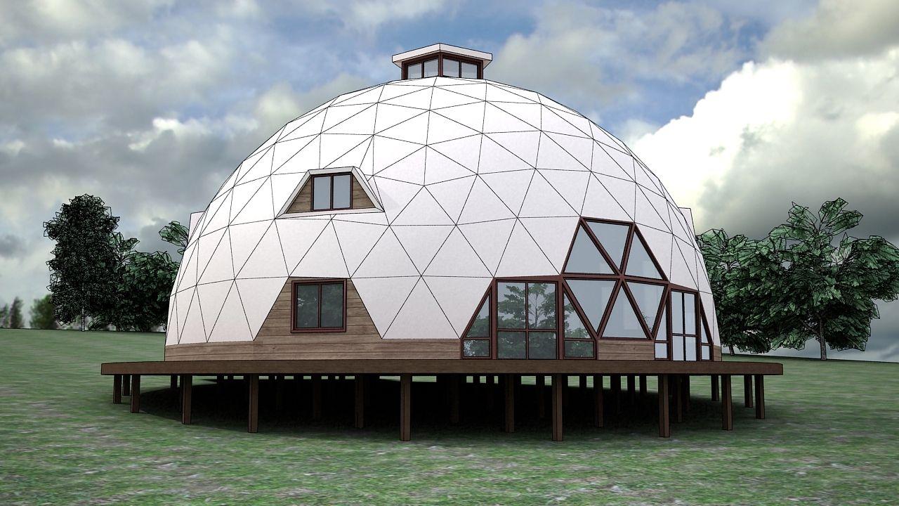 Динамика - купольные дома на заказ - Гостевой дом ...