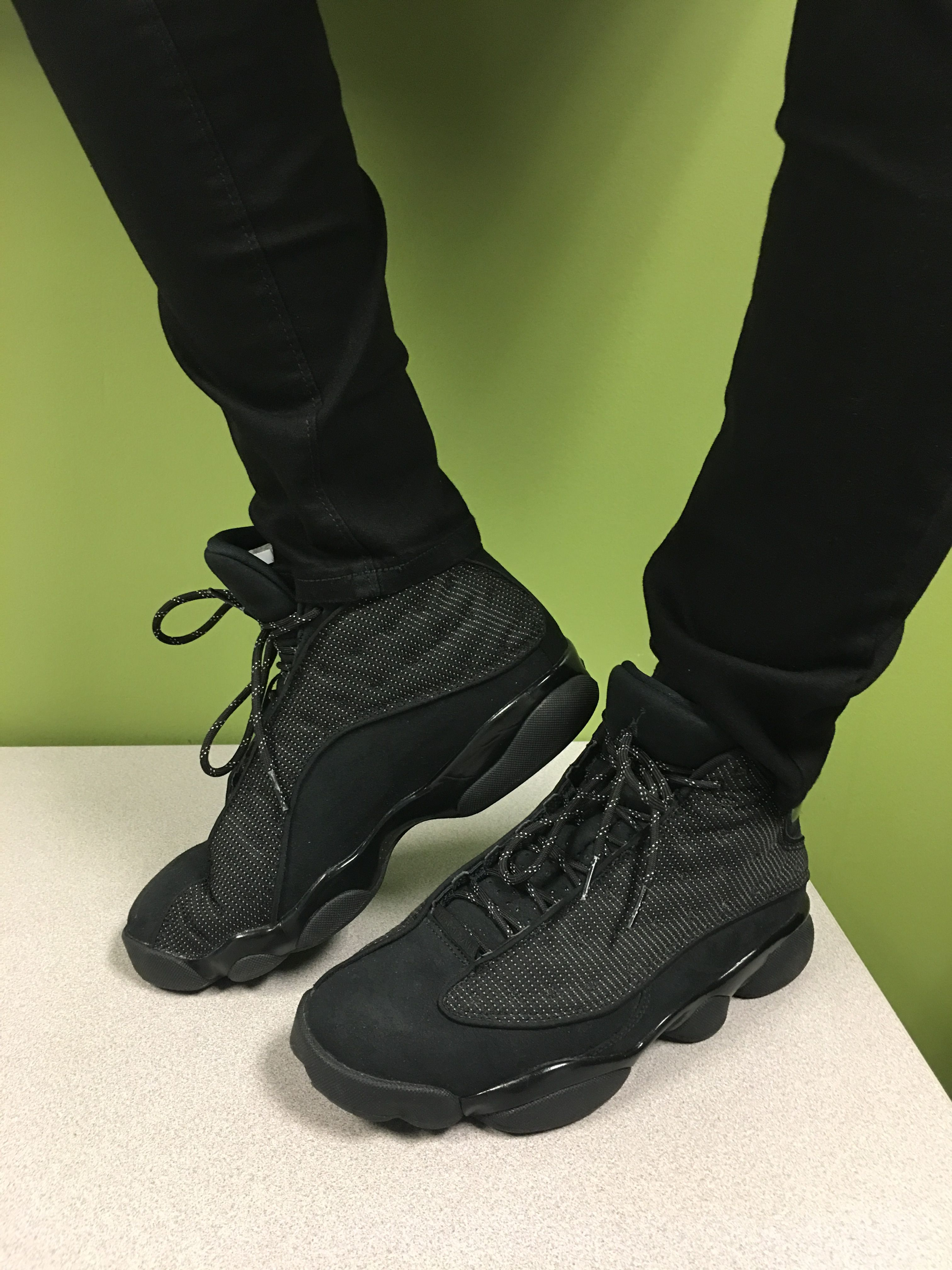 half off 3161f 2e624 Black Cats on Feet. Work flow. Jordan 13s. | Jordans ...