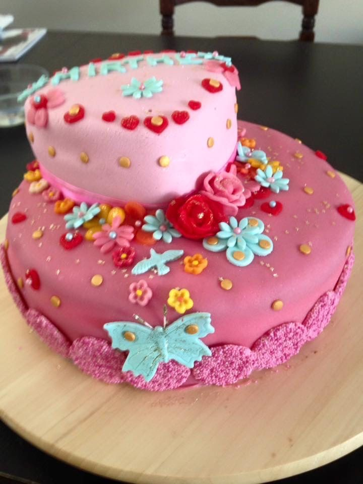 Pin op Zelfgemaakte taarten
