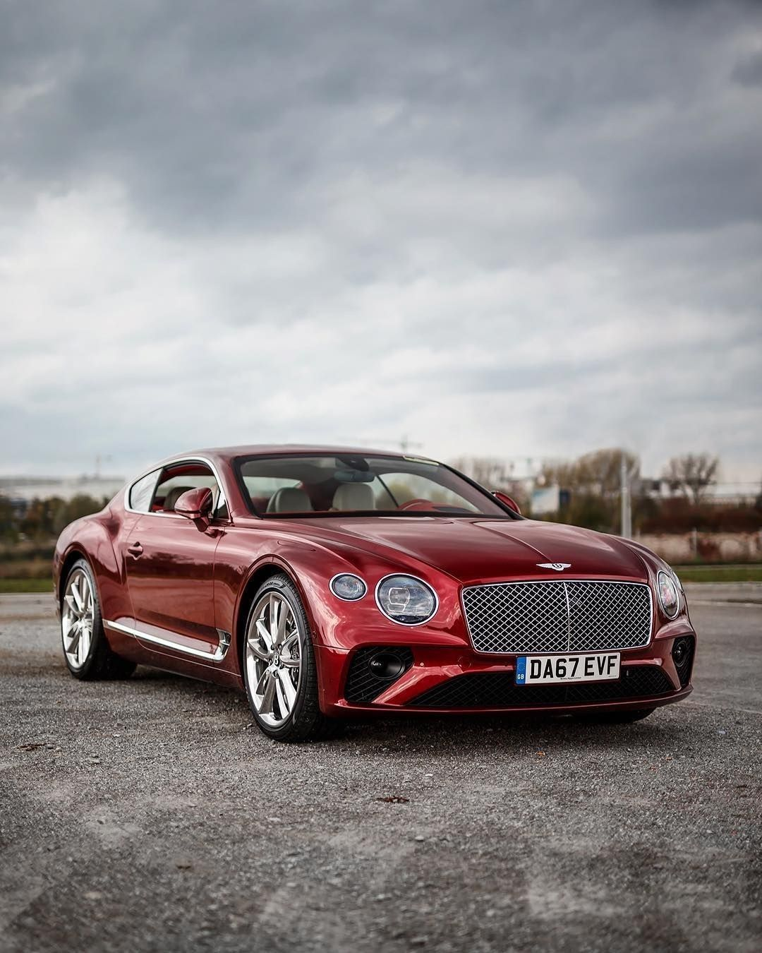 Red Velvet Bentley Continental GT