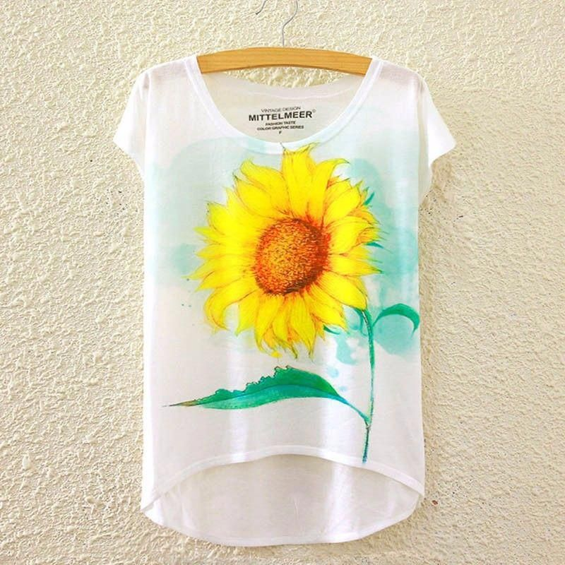 2f03dce5 2017 Brand New Polyester T-Shirt Women Short Sleeve t-shirts o-neck ...