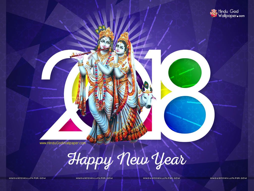 Happy New Year 2018 Wishes Wallpapers Images Photos Download