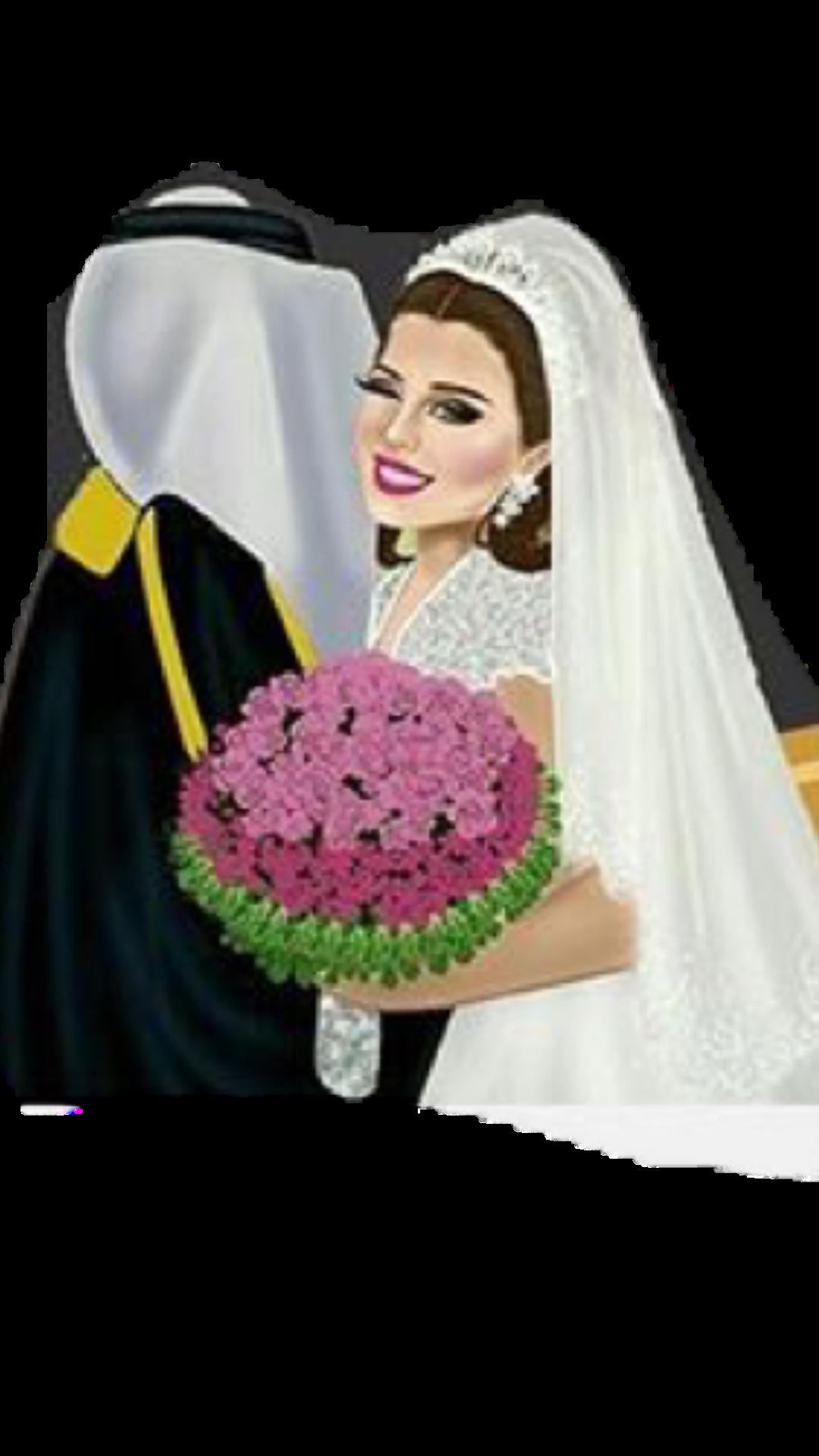 Pin By Amal Ahmed On Animation Wedding Illustration Valentine Wedding Card Wedding Theme Colors