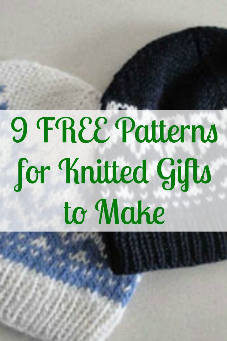Knitted christmas gifts to make