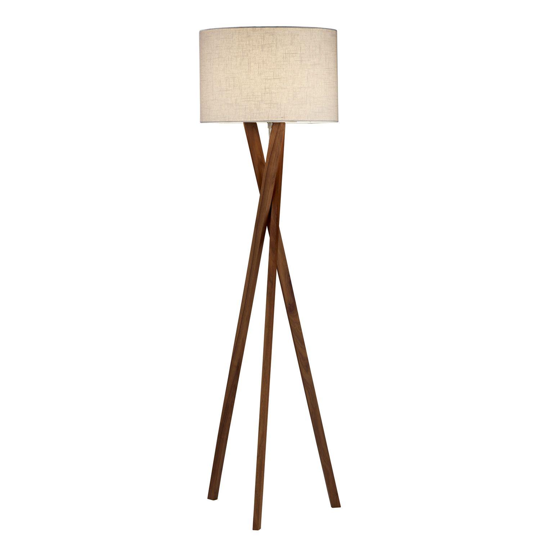 Adesso Brooklyn Floor Lamp Tripod Floor Lamps Floor Lamp Lamp