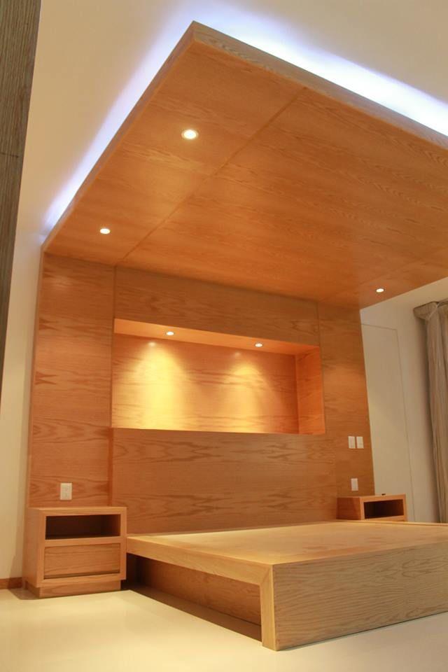 Recamara principal por creato arquitectos muebles de for Disenos de alcobas principales