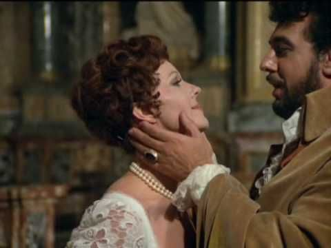 "Placido Domingo singing Ah! Quegli Occhi! from ""Tosca "" ~ What eyes in the world can compare to your black ones?"