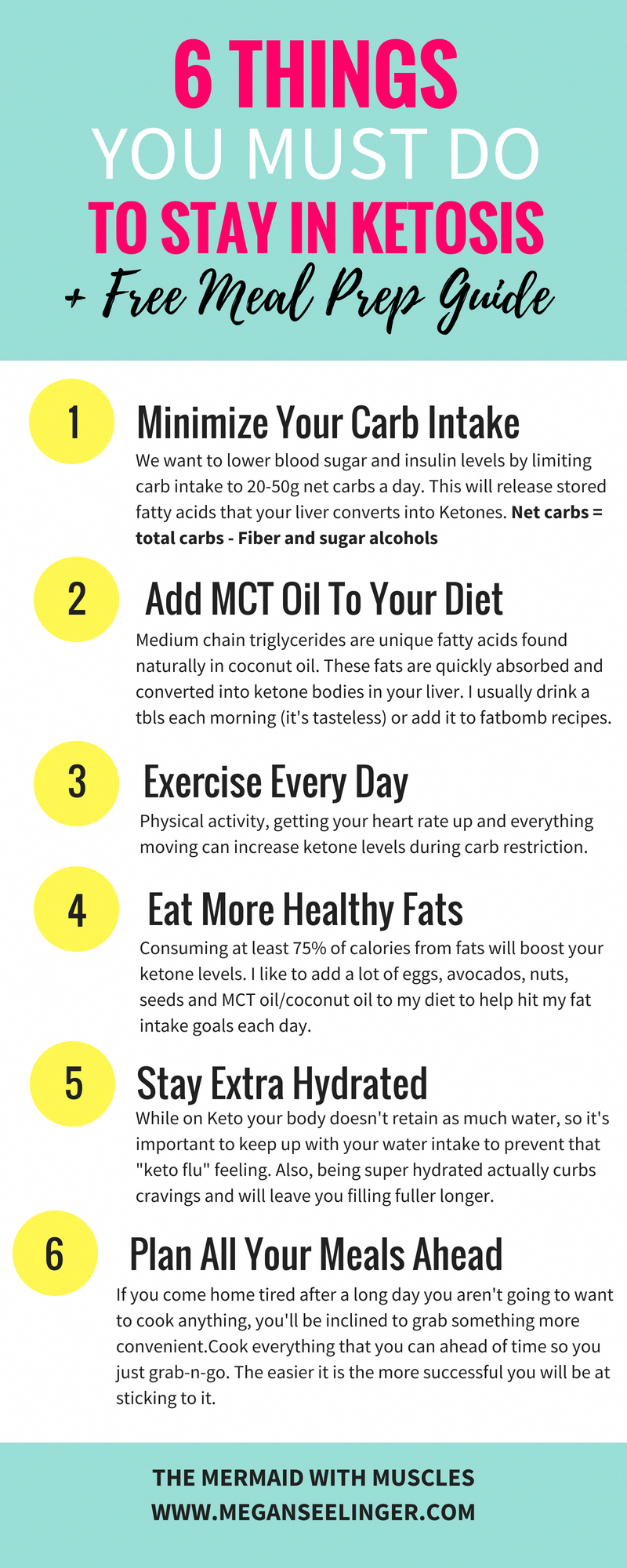 6 things you must do to stay in ketosis, a ketogenic diet for