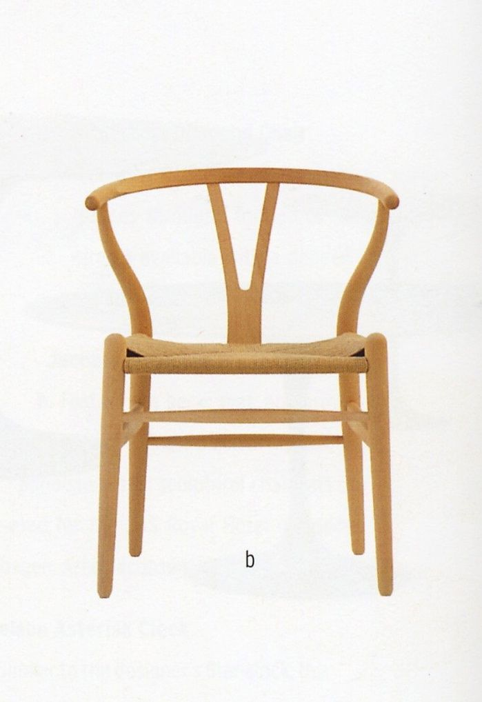 Delightful Wood Arm Chair/ Hans Wagner. ChairsFurniture