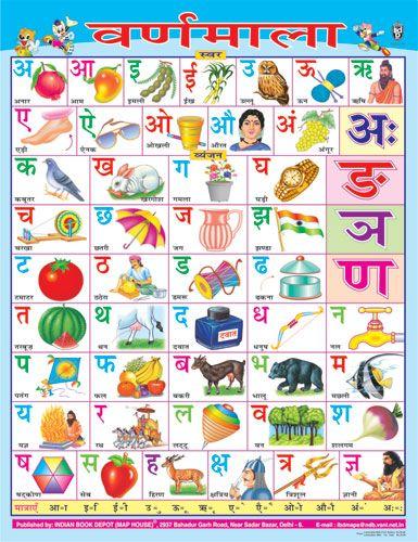 Hindi alphabet | Learning language | Pinterest