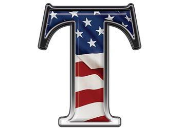 Weston Signs Inc :: Letters and Numbers :: Patriotic :: Reflective ...