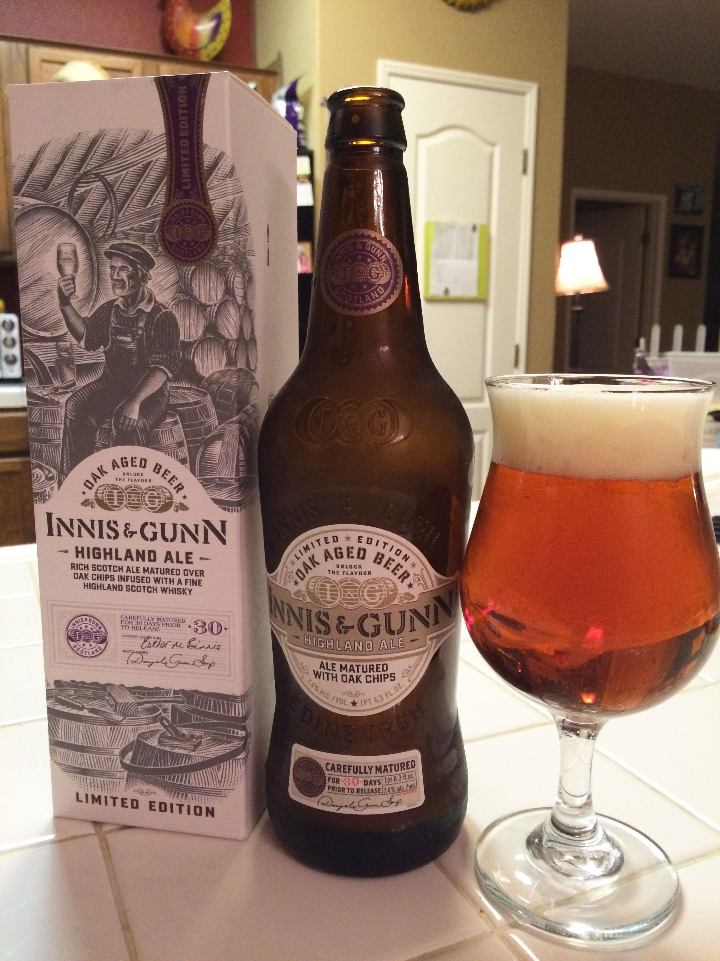 Inns & Gunn 'Highland Ale' Oak Aged Scotch Ale