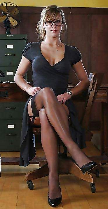 Women wearing stockings pantyhose