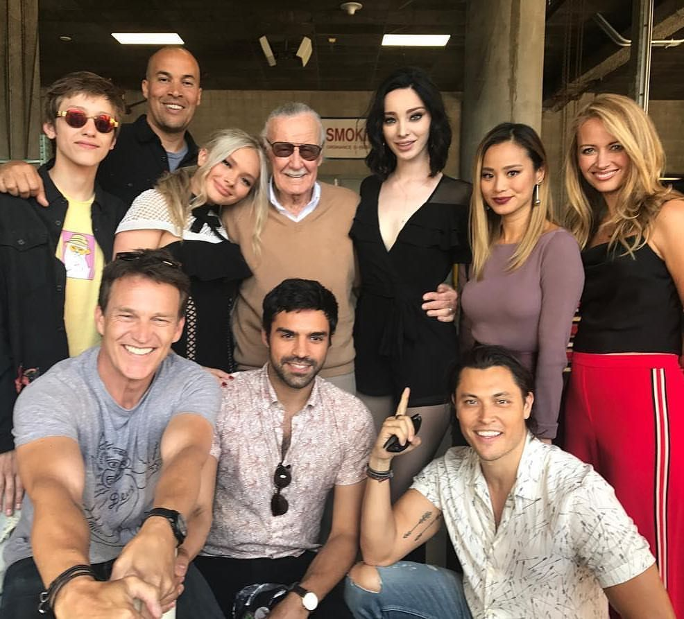 2 294 Likes 11 Comments The Gifted Thegiftedonfox On Instagram Give It Up For The Legend Therealstanlee The Gifted Tv Show Marvel Tv Marvel Actors