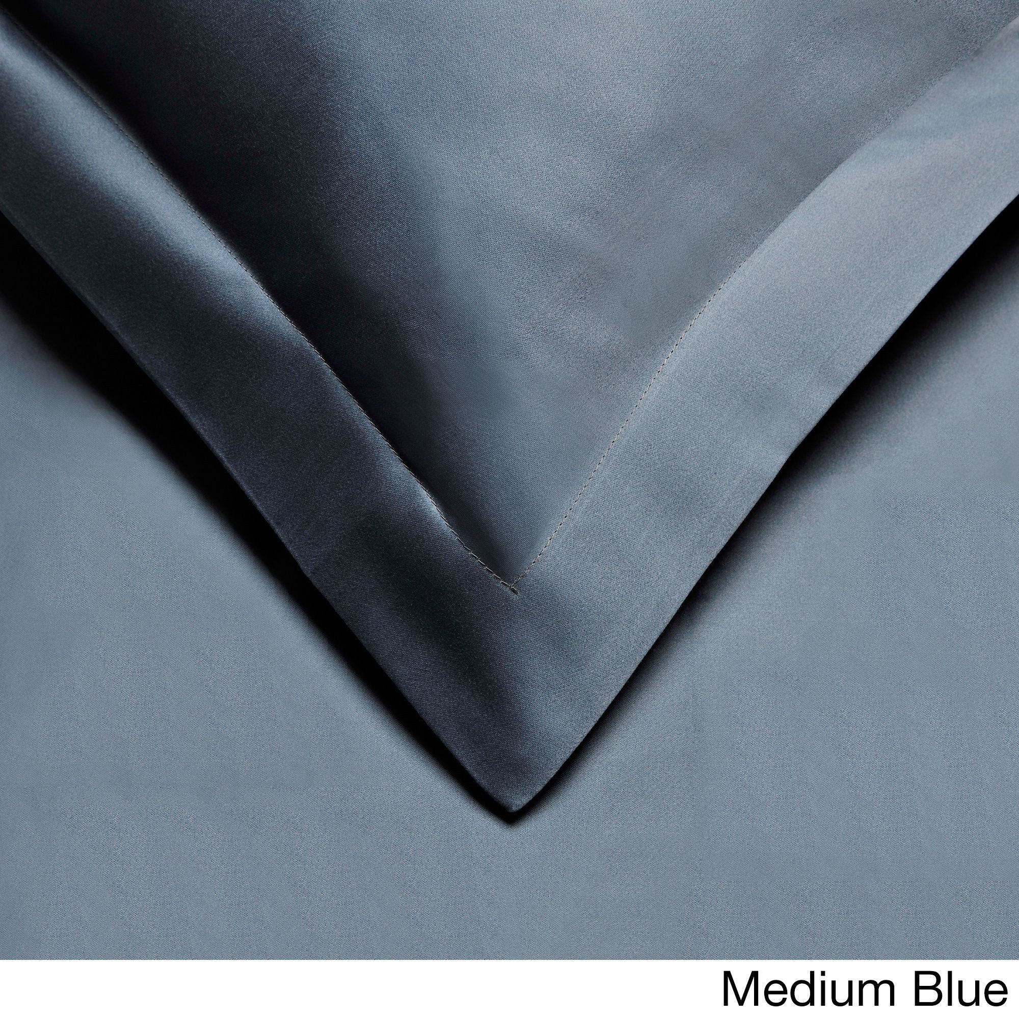 City 800 Thread Count 3-piece Solid Duvet Cover Set